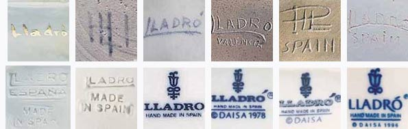 Authenticity of figurines of porcelain Lladro; value: What is Nao?