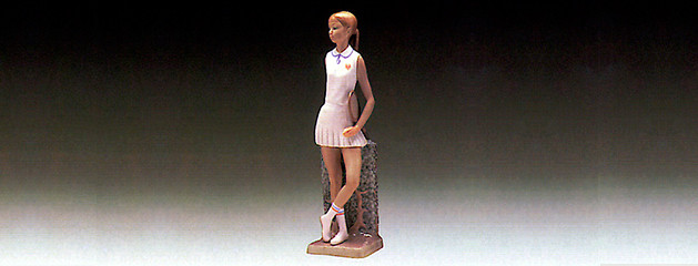 How to choose a tennis racquet? Lladro porcelain figurine of tennis