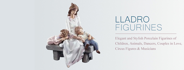 Who were the creators of porcelain figurines of Lladro?