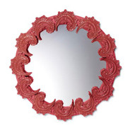New trends of rococo mirrors of porcelain lladro