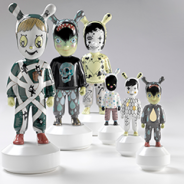 Who are the new designers of porcelain figurine of Lladro?