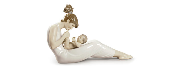How to make pictures of Lladro porcelain figurines?